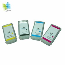 Winnerjet 3 Sets Empty Refill Ink Cartridge with Chip for Hp Replacement 82 10 Cartridges