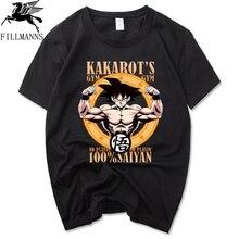 dragon ball Z t shirt Ultra Instinct Son Goku Super Cotton Tops Short Sleeve dragon ball t shirt Cartoon Summer Men's T-shirt