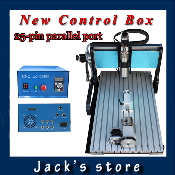 25-pin parallel port !!! 6040Z-S++(4aixs),800W Spindle+1.5kw VFD CNC6040 CNC Router water-cooling Metal engraving machine usb port 3020z s cnc3020 800w spindle 1 5kw vfd cnc router water cooling metal engraving machiney cnc machine cnc 3020