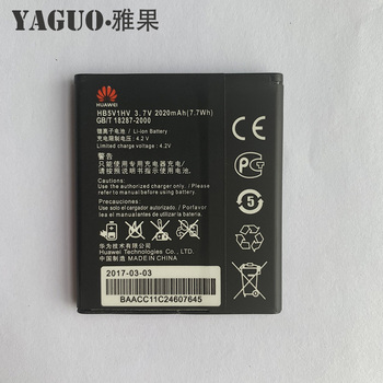 цена на 100% New Original 2020mAh HB5V1&HB5V1HV Battery For Huawei Y516 Y300 Y300C Y511 Y500 T8833 U8833 G350 Y535C Y336-U02 Y360-u61