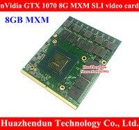 Бесплатная доставка N17E G2 A1 nVidia GTX 1070 8 г MXM3.0 N17E G2 A1 видеокарта для Dell Alienware/MSI/Clevo ноутбук/ноутбук