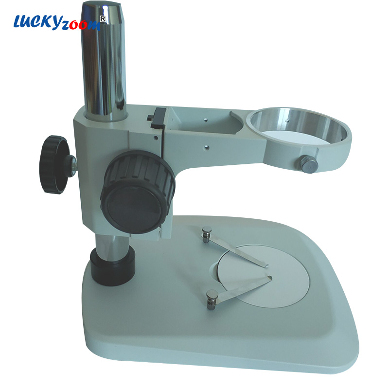 Lucky Zoom Professional Microscope Stand Portable B6 Trinocular Stereo Microscope Stage A1 Focuse Arm Accessories Free Shipping цена