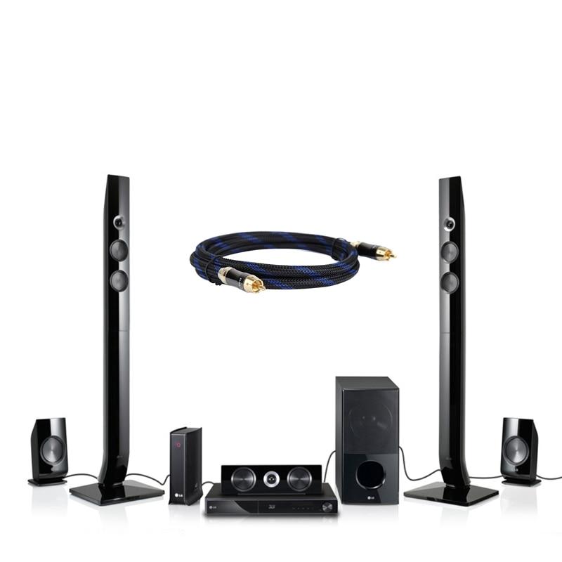 HIFI Digital Coaxial Audio/Video kabel 1 Stecker auf 1 Männlichen ...