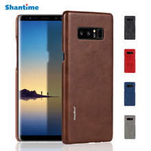High Quality Vintage Luxury PU Leather Phone Cases For Samsung Galaxy Note 8 Cover Mobile Phone Accessories Case