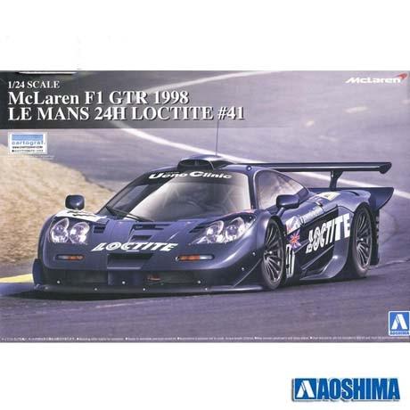 1/24 00750 Assembled Model Car McLaren F1 GTR 1998 LE 1 24 00750 assembled model car mclaren f1 gtr 1998 le