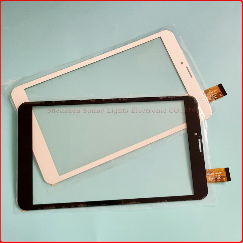 New 8 Inch Digitizer Touch Screen Panel For TEXET TM-8044 8.0 3G Tablet PC цены онлайн