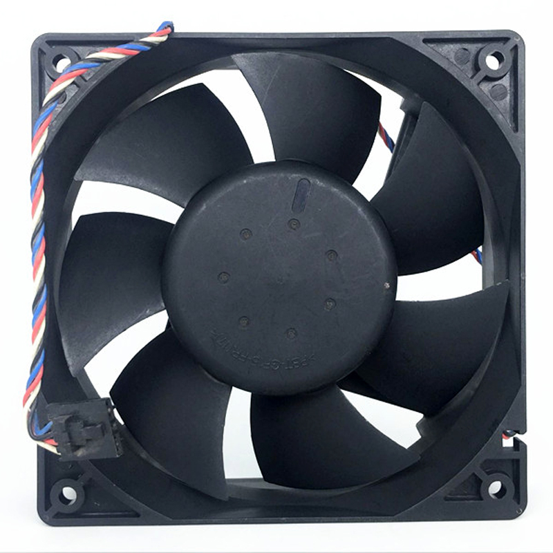 2 pieces Delta AFC1212DE 120*120*38mm 12cm DC 12V 1.6A PWM 4-line Control Air Fan