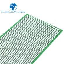9x 15 см Прототип PCB 2 слоя 9*15 см панель универсальной платы двойная сторона 2,54 мм зеленый
