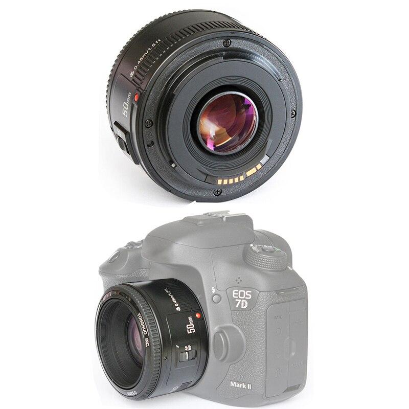 DOITOP for Canon YN 50mm F1.8 YN EF 50mm f/1.8 AF/MF Lens Large Aperture Auto Focus for Canon EOS DSLR Cameras C4