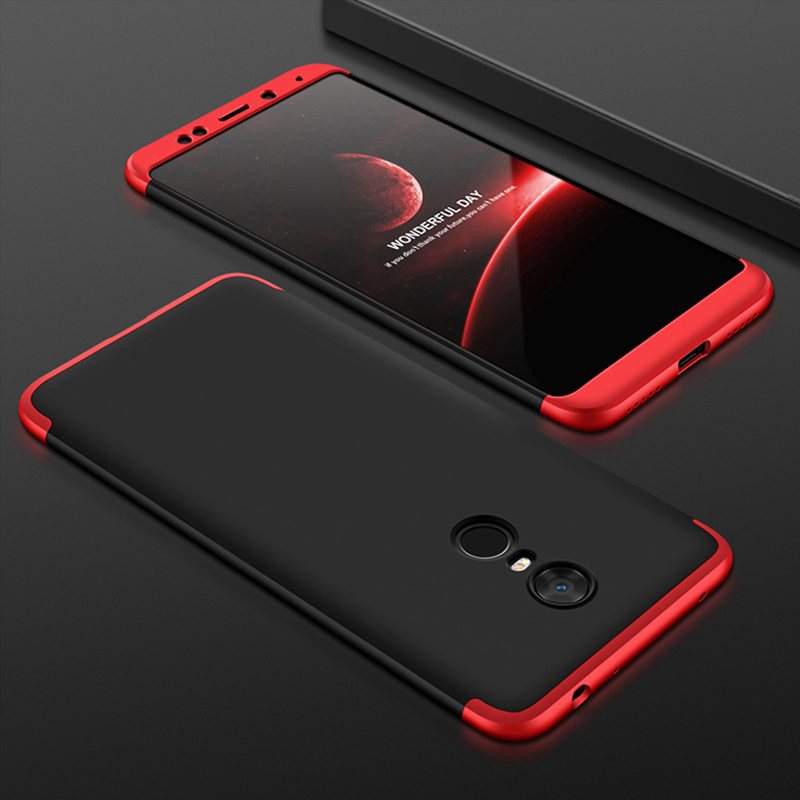 MAODI For Xiaomi Redmi 5 Plus Case Luxury 360 Degree Full