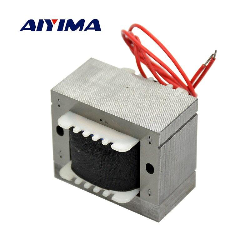Aiyima 1Pc 57*25MM Vibrating Transformer Coil Vibration Plate Electromagnet Linear Feeder 25W Baosteel H50 Core катушка индуктивности mundorf m coil bv transformer core bt140 8 2 mh 1 40 mm