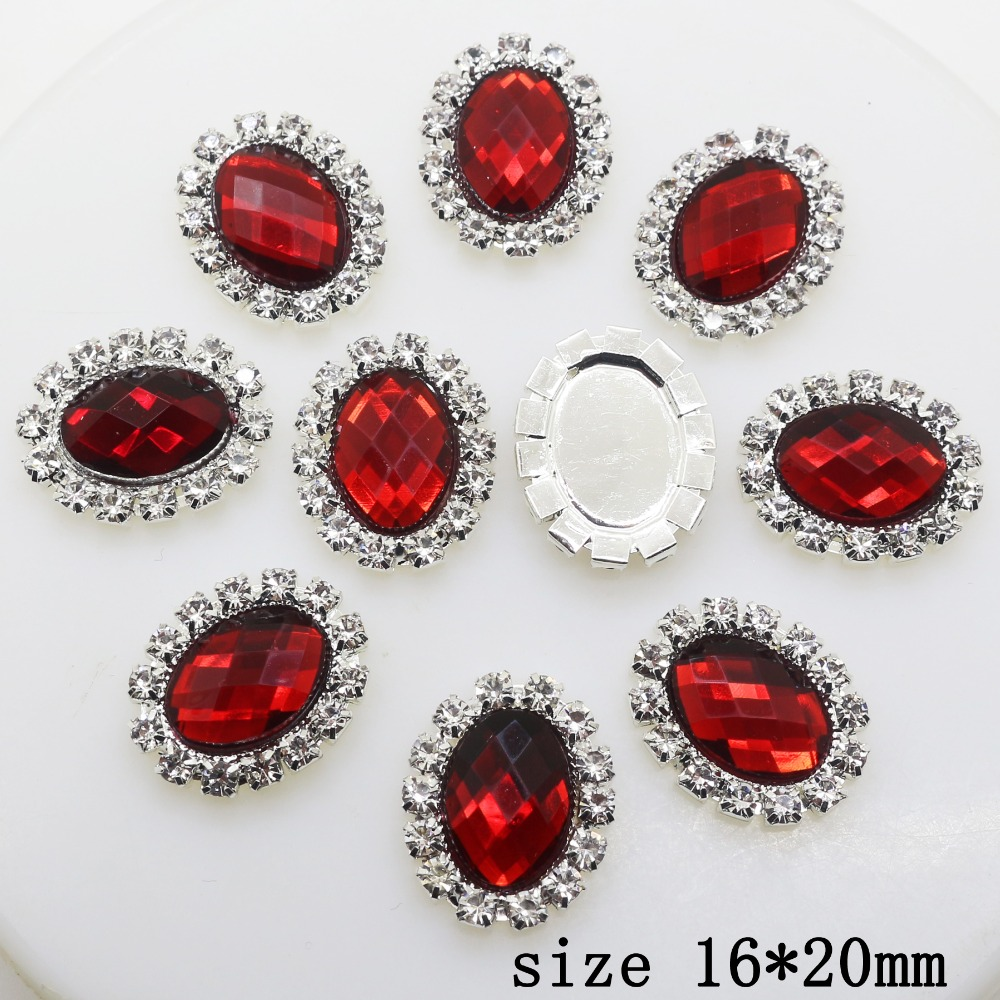 Selling Limited Edition 10pcs 16 * 20mm Oval Diy jewelry Accessories ...