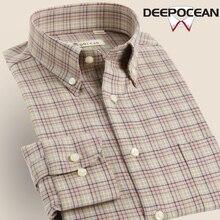 Модные Бизнес Рубашки для мальчиков хлопок Для мужчин Рубашки для мальчиков модные Для мужчин Повседневная рубашка Camisa De Hombre