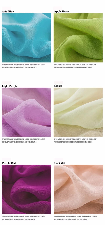 2018 res posebna ponudba barvana 21 barvnih modnih 75D 100% poliester - Umetnost, obrt in šivanje - Fotografija 5