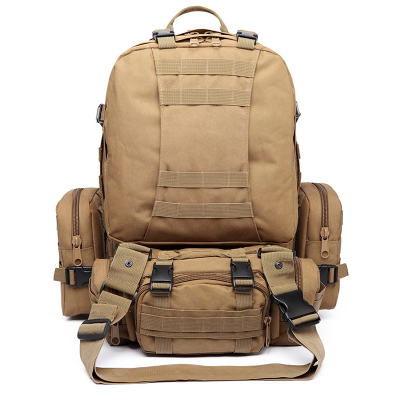 Men Waterproof Nylon Molle Assault Pack Large Capacity Mochila Militar Tactica Removable Outdoor Sport Military font