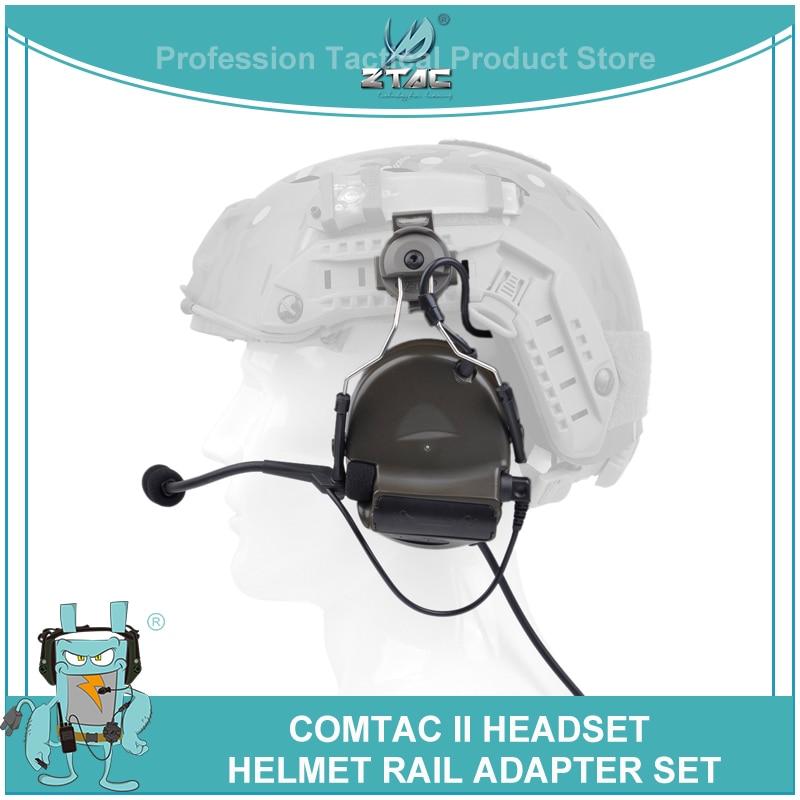 Z-tactique Softair Peltor Comtac ii casque avec casque Rail adaptateur Set casque Aviation casque tactique casque pour tir Z031Z-tactique Softair Peltor Comtac ii casque avec casque Rail adaptateur Set casque Aviation casque tactique casque pour tir Z031