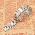 Grind песчаные Металла Ремешок Для Часов часы из нержавеющей стали ремешок браслет страховой развертывания застежка 18 мм 20 мм 22 мм 24 26 мм мужчин