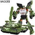 Deformación fresco Tanque de Juguetes Figuras de Acción Militar Armored Car Robot Plástico ABS Película 4 de Anime Juguetes Clásicos Boy Regalos