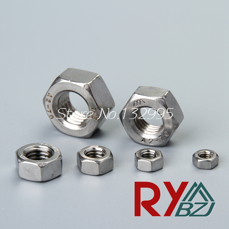 M1 M1.2 M1.6 M2 M2.5 M3 M4 M5 M6 M8 M10 M12 M14 M16 M18M20 DIN934 Hex nut,Stainless steel A2 hex nut, steel nut, SUS 304 DIN934 gb6184 304 stainless steel metal lock nut m3 m4 m5 m6 m8 m10 m12 m14 m16 m20 nut metal self locking nut anti loose nut
