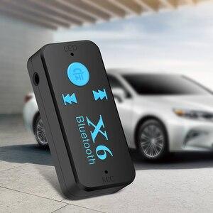 Image 4 - 3 en 1 sans fil Bluetooth adaptateur 4.0 USB Bluetooth récepteur 3.5mm Audio Jack TF lecteur de carte MIC appel Support pour voiture haut parleur