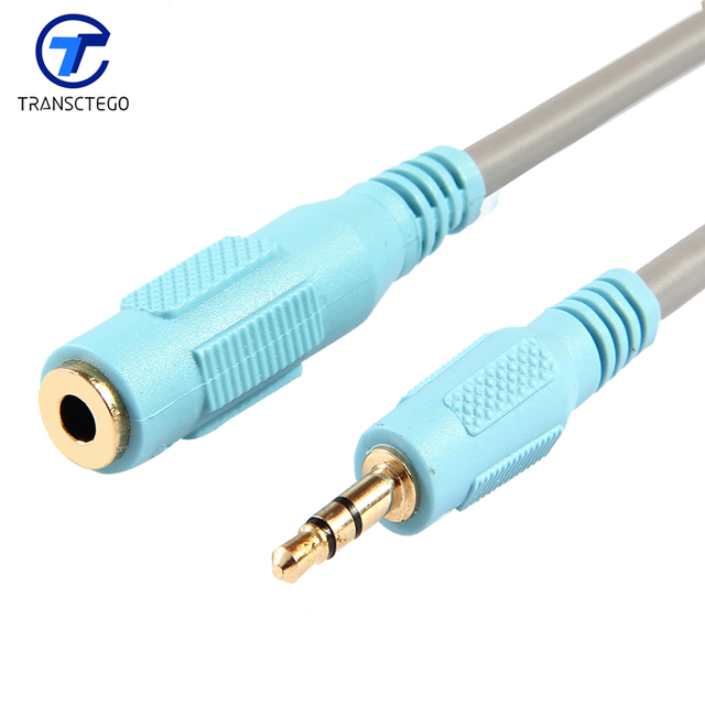 Audio cable extend line male to female tv box headphones computer ...