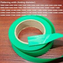 1 kg batterie au Lithium PVC thermorétractable manchon rétractable peau batterie remplacement de la peau bricolage paquet tube film isolation manchon