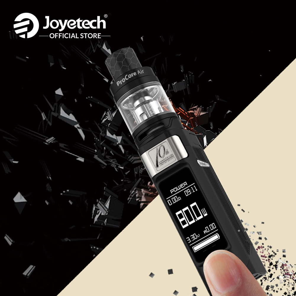 USA/France Entrepôt Origine Joyetech ESPION Solo Kit Avec 4.5 ml ProCore Air Atomiseur dans ProCA 0.4ohm Tête 80 w E Cigarette - 6
