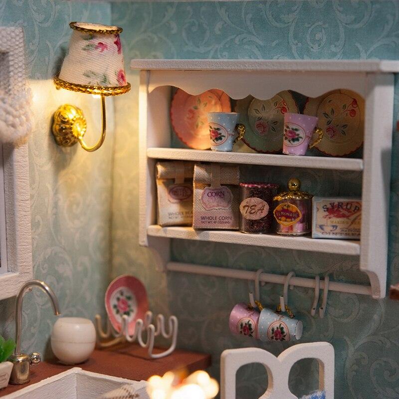 Casas de Boneca bonecas artesanais diy casas de Material : Madeira