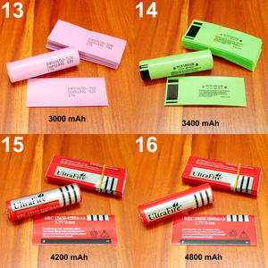 Image 3 - Customized lithium battery packaging skin shrink film 18650 battery special insulation heat shrinkable tube 26650 PVC plastic