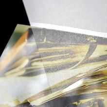 Измельчить A4 фото Волшебная пленка для холодного ламинирования 50sheets/уп