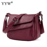 5 Colors Leather Luxury Handbags Women Bags Designer Women Messenger Bags White Sac A Main Summer Bag Woman Bags For Women 2018