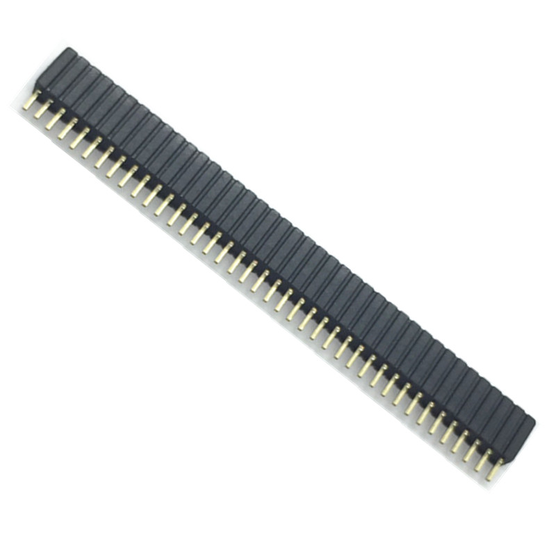 ZW-25-20-S-D-735-145 Pack of 5 Header 2 Rows, 50 Contacts Board-To-Board Connector 2.54 mm ZW Series Through Hole