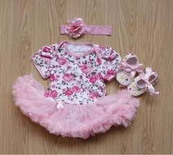 2019 3 шт. розы новорожденных детские кружевные комбинезоны платье для девочек комбинезон наряды одежда Babe костюмы