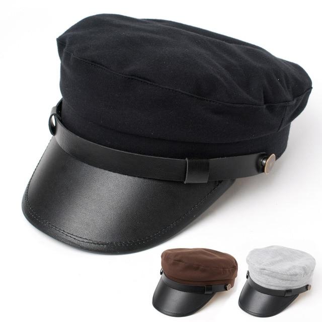 Военно-морского флота крышка женский летние шляпы вс шляпу крышка вс-затенение курсант женская шляпа летом