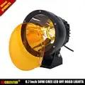 Amber lights 9150970 Kanon LED Rijden Licht 50 W Led Kanon Licht smalle Beam 4WD 4x4 Off road Led Koplamp x1pc Gratis Verzending