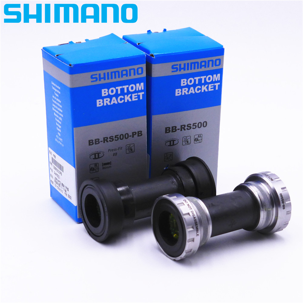 SHIMANO Road Bike Bottom Bracket BSA/PressFit BB RS500 PB
