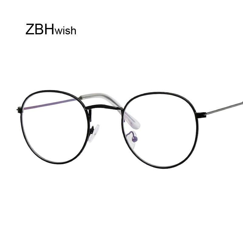 582bb82151 Gafas redondas para mujer gafas de sol montura de Metal gafas de óptica  Vintage para mujer