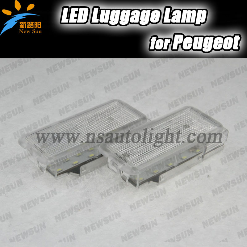 18 SMD Car led light LED luggage compartment lamp for Peugeot 206 207 306 406 307