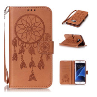 For Samsung Galaxy S2 S3 S4 S5 Mini S6 S7 Edge Case With Stand Flip Cover