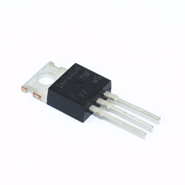 10pcs IRF640N IRF640 IRF640NPBF Power MOSFET MOSFT 200V 18A 150mOhm 44.7nC TO 220 new