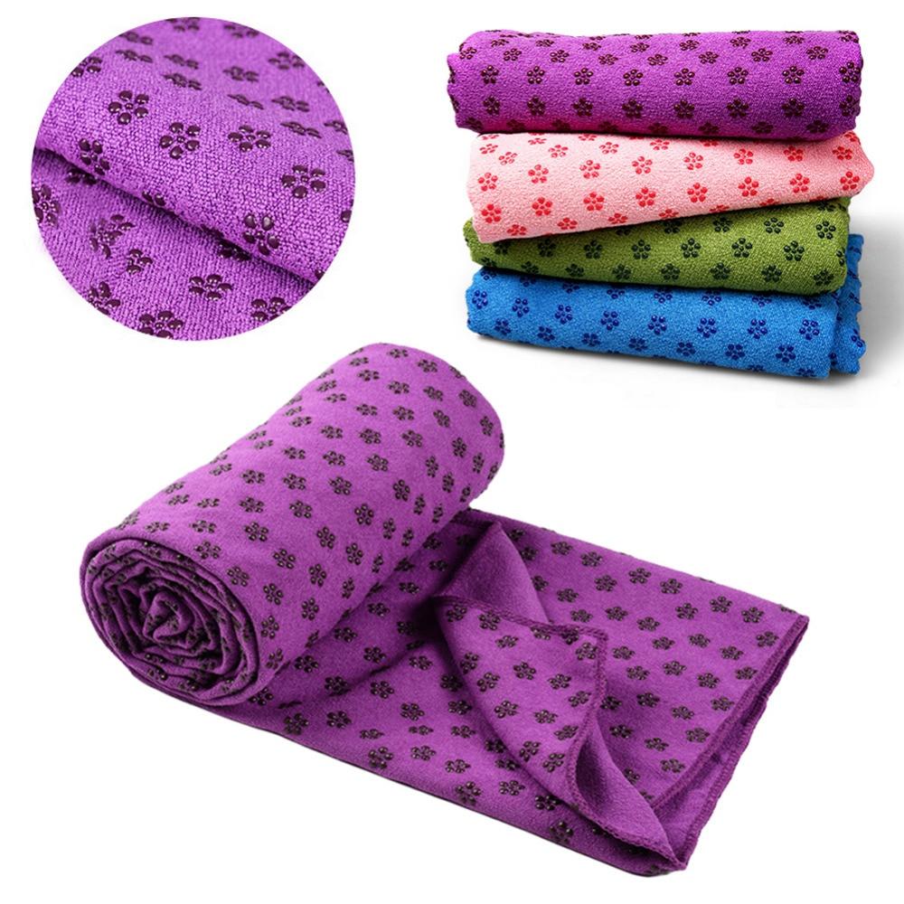 High Quality Soft Sport Fitness Travel Exercise Yoga Mat Cover Towel Blanket Non Slip Pilates
