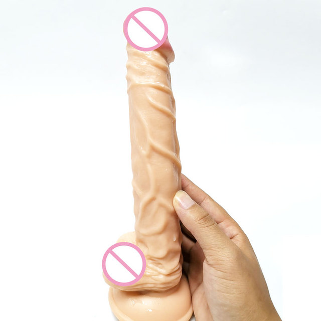 "9.84"" Big Penis Super Huge Dildo horse Giant flesh Dildo, Monster Dildo 25cm long 4cm Thick Big Dildo, Adult Sex Toys for Women"