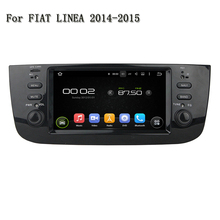 Android 5.1.1 Car Multimedia Player Radio GPS Navigation Head Unit Support Rear View Camera DVR For Fiat LINEA 2014-2015