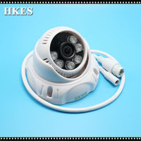 Free Shipping HD 1.3MP IP Network Camera 6Pcs Blue IR LEDs Dome Indoor Full HD POE IP Cam 960P