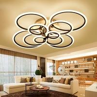Remote Control Living Room Bedroom Modern LED Ceiling Lights Luminarias Para Sala Dimming LED Ceiling Light