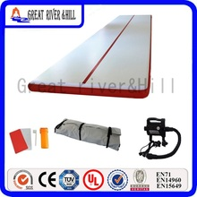 7m length  inflatable gym mat  cheer leading air track tumbling mat for sports with free pump 7m x 1.8m x 0.1m for sale