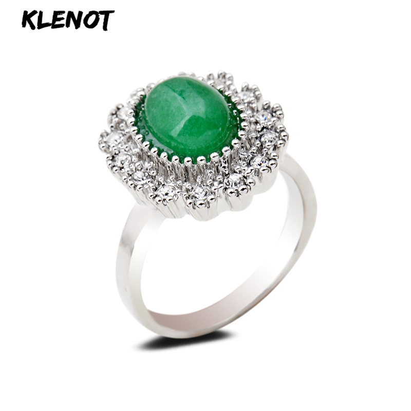 Wonderful Stylish Natural Black Jade Gemstone Fashion Ring Size 10 US Shipper