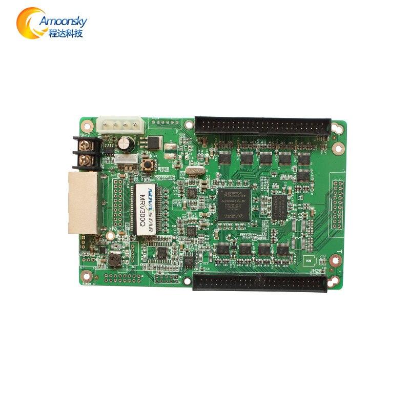 Mrv300q mrv300 novastar приемник файл конфигурации открытой RGB LED контроллер Время программируемый светодиодный контроллер