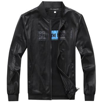 Brand New 2018 Summer Jacket Men Black and White Breathable Mesh Men's Clothing Slim Fit Casual Jacket Zipper Coat