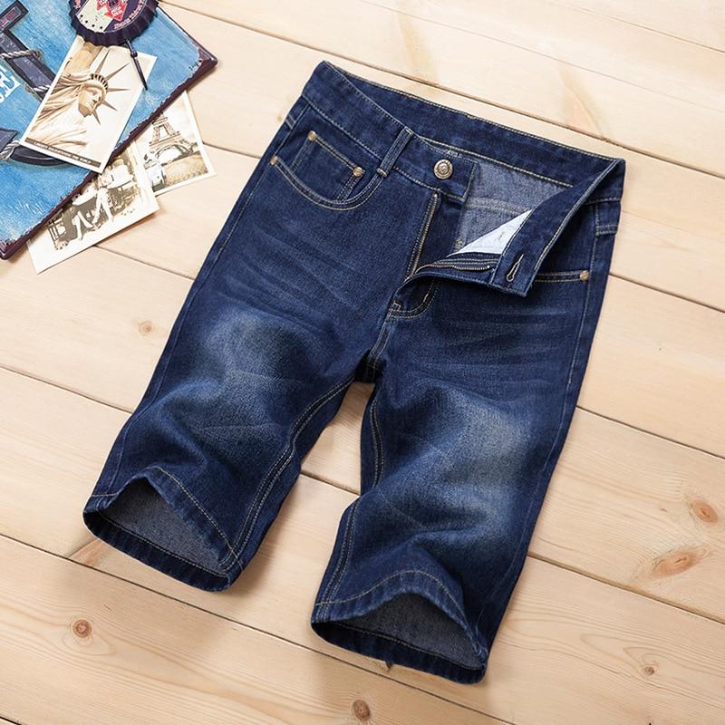 Pantallona të shkurtra xhins QINSIR pantallona xhins meshkuj, - Veshje për meshkuj - Foto 4